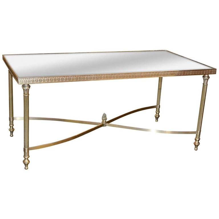 Midcentury French Neoclassical Style Coffee Table