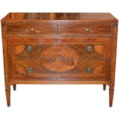 Superb 18th Century Neoclassical Commode