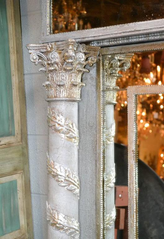 Magnificent 19th Century Corinthian Column Mirror At 1stdibs