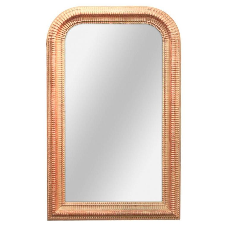 Mid-19th Century Gold French Louis Philippe Mirror