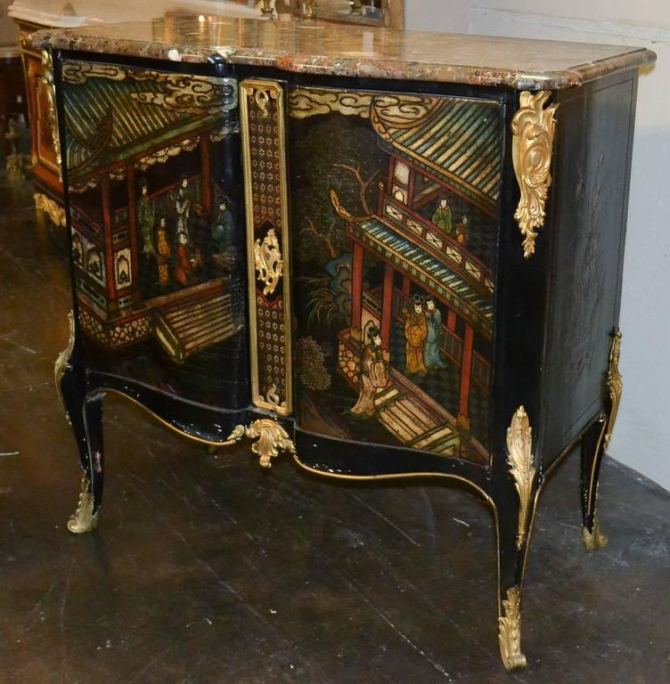 19th Century Belle Époque Coromandel Server In Good Condition For Sale In Dallas, TX