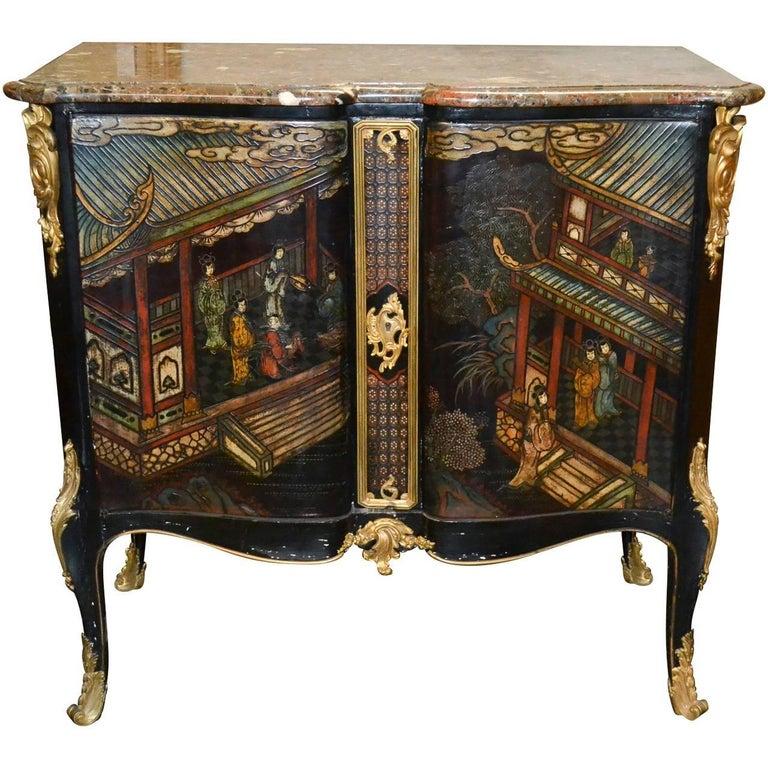 19th Century Belle Époque Coromandel Server For Sale