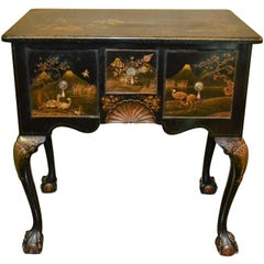 Early 19th Century Queen Anne Chinoiserie Lowboy