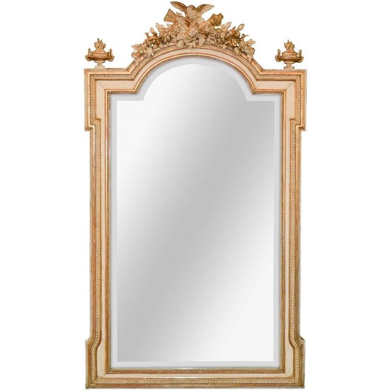 19th Century French Parisian Mirror