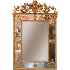 Superb 19th Century French Louis XV Mirror
