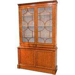 19th Century English Edwardian Bookcase