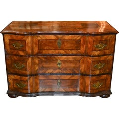 18th Century South German Walnut Commode