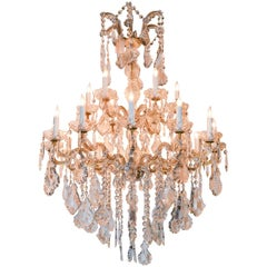 French Maria Theresa 18-Light Chandelier