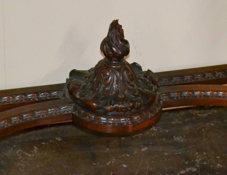 French Louis XVI Walnut Console For Sale 2