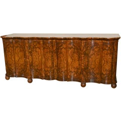 Superb Italian Shaped Front Sideboard
