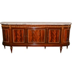 Superb French Bronze-Mounted Sideboard