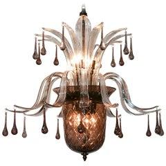 High Style Murano Glass Chandelier