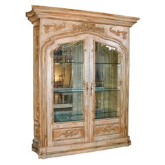 Italian Parcel-Gilt Display Cabinet