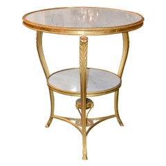 19th Century French Gueridon Table