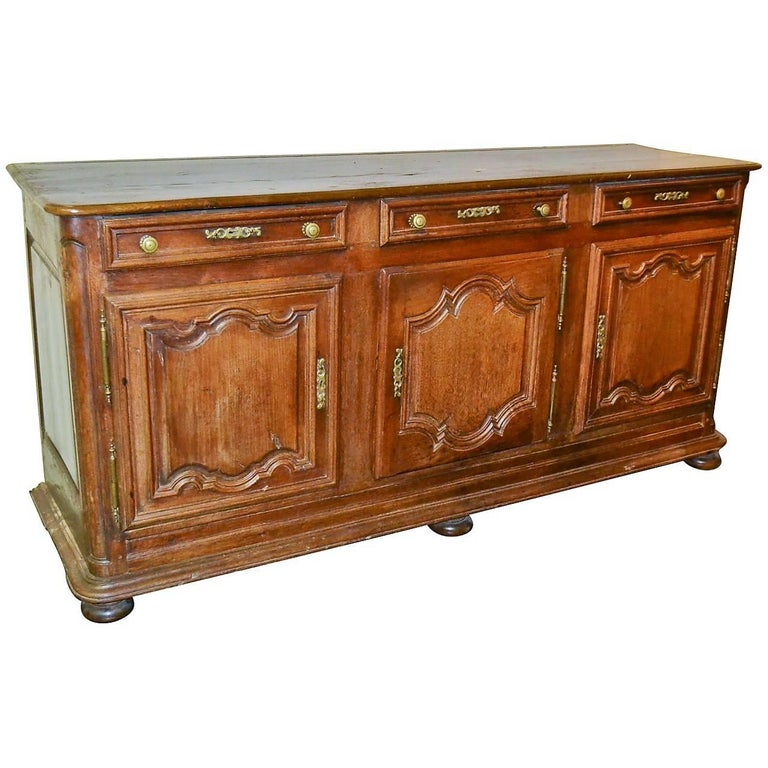 18th Century French Oak Buffet or Sideboard