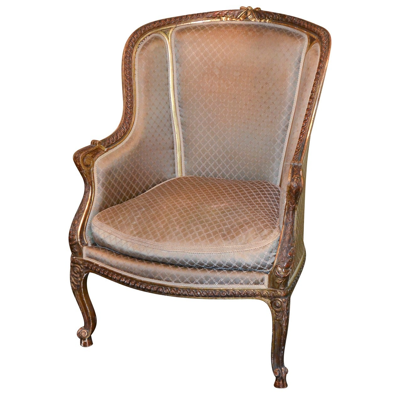 19th Century French Louis XV Bergere