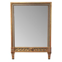 Italian Neoclassical Painted Mirror, circa 1900