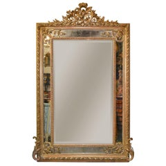 Large 19th Century French Louis XVI Mirror