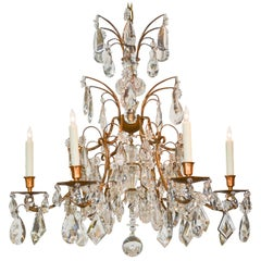 High Style French Chandelier after Maison Baguès