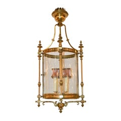 Continental Cast Brass Hall Lantern