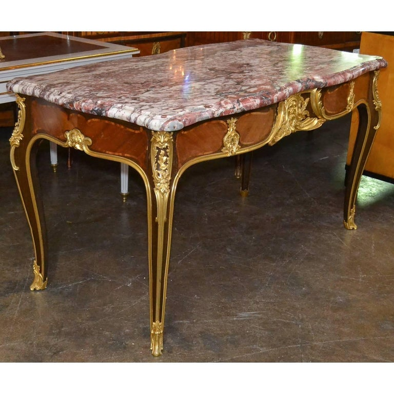 Late 19th Century Important 19th Century French Desk by Ebeniste For Sale