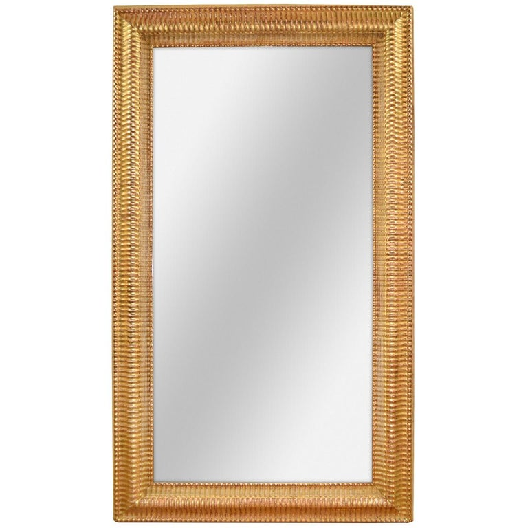 19th Century French Louis Philippe Transitional Mirror