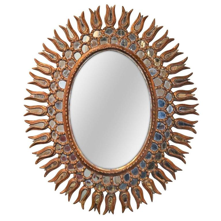1940s Hollywood Regency Style Mirror
