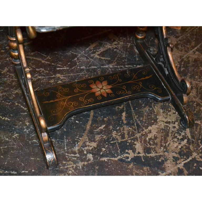 Late 19th Century Nice 19th Century English Chinoiserie Davenport Desk For Sale