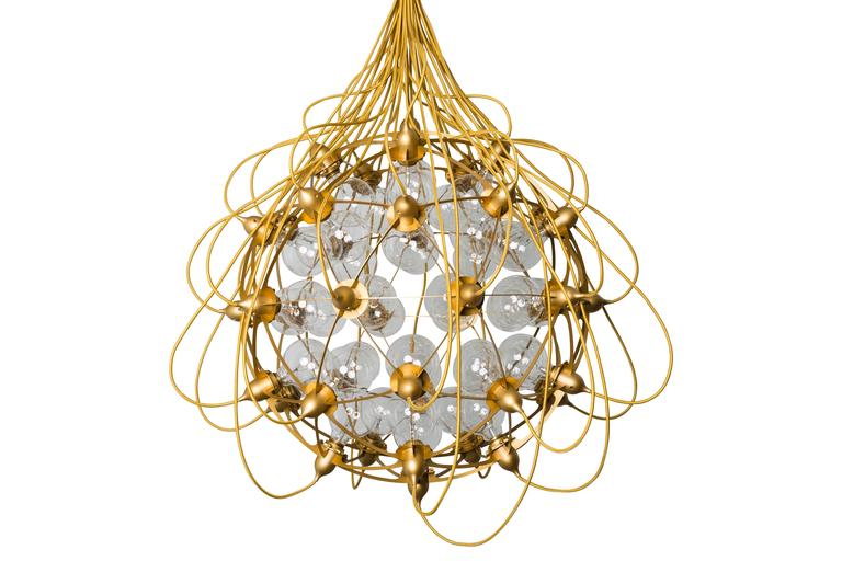"""The Birth Gold"" Lamp by Satoshi Itasaka 2"