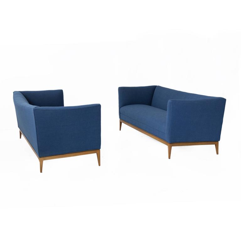 Pair of Paul McCobb Sofas for Directional For Sale 1