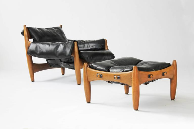 Exceptional Sergio Rodrigues Sheriff Chair And Ottoman 3