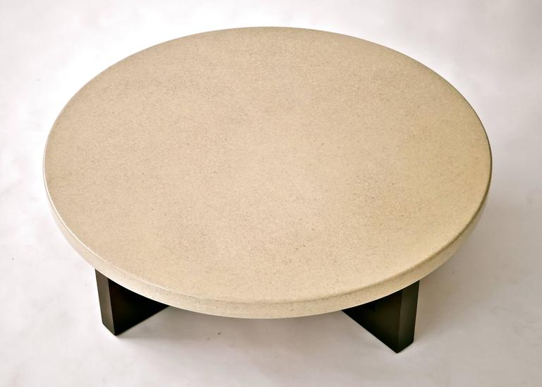 Paul Frankl Lacquered Cork Cocktail Table 7
