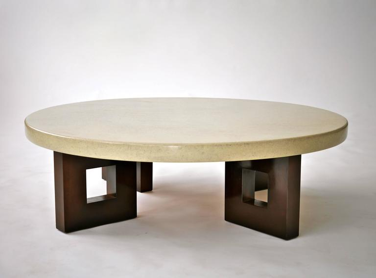 Paul Frankl Lacquered Cork Cocktail Table 6