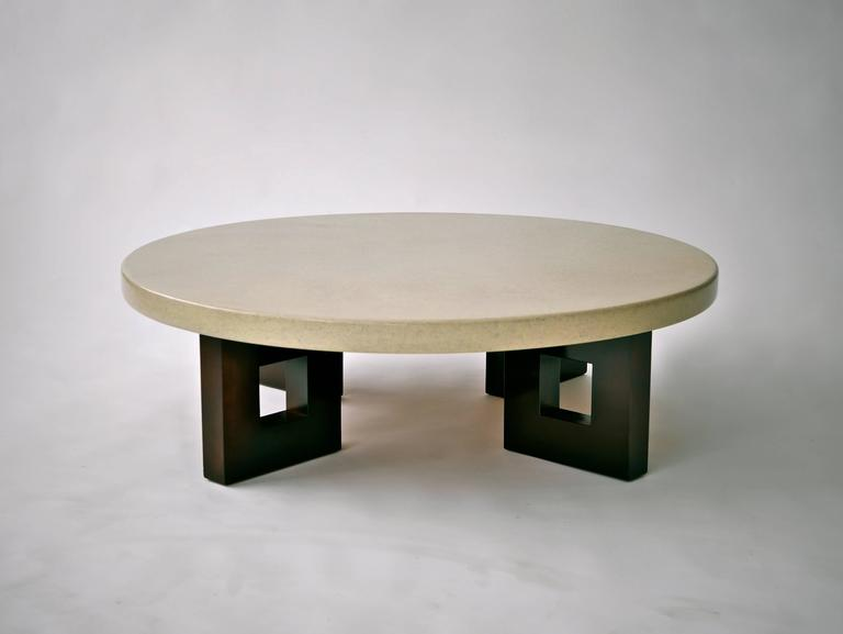 Paul Frankl Lacquered Cork Cocktail Table 10