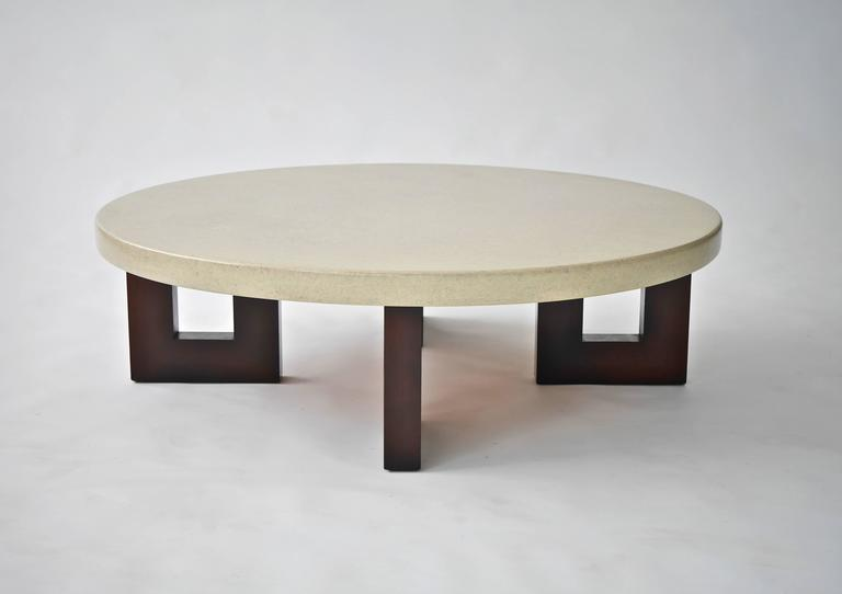 Paul Frankl Lacquered Cork Cocktail Table 4
