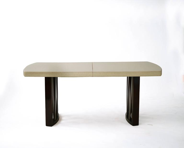 Paul Frankl Cork Dining Table For The Johnson Furniture