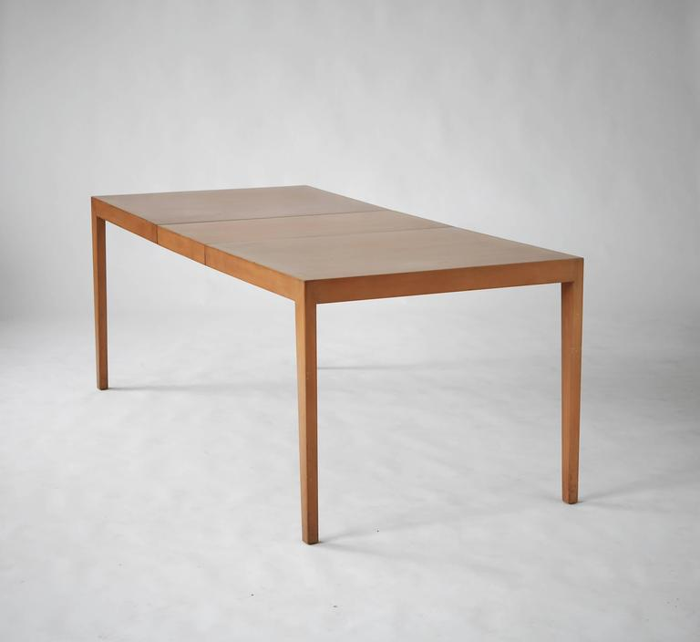 early and rare florence knoll dining table for sale at 1stdibs