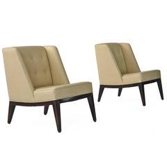 Rare Edward Wormley Janus Group Lounge Chairs