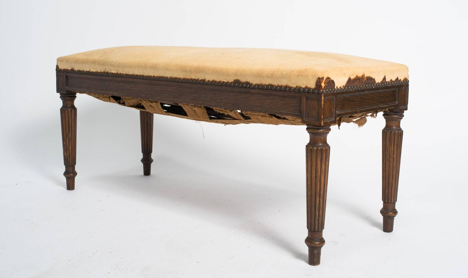 Antique French Bench At 1stdibs