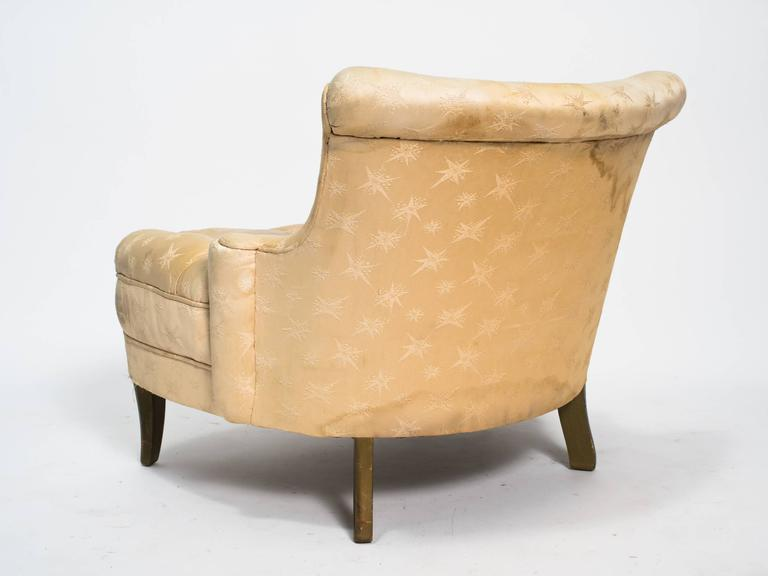 Hollywood Regency 1940s Lounge Chair at 1stdibs