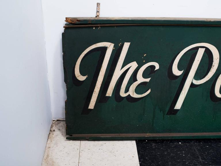 1950s Poodle Shop Sign In Fair Condition For Sale In Tarrytown, NY