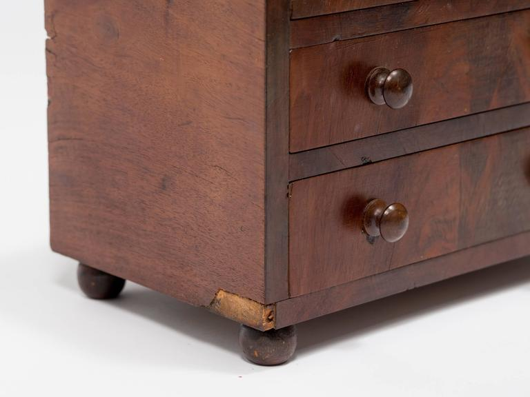 19th Century Salesman's Sample of a Chest For Sale 3