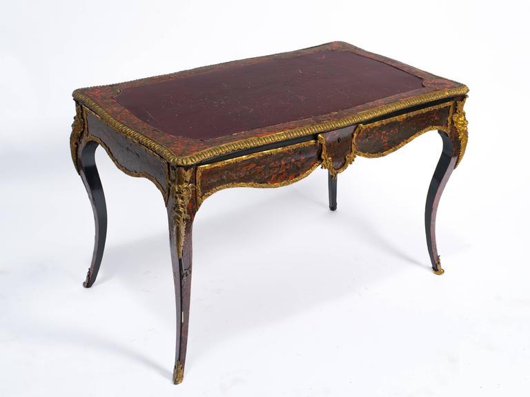 19th century french boulle bureau plat at 1stdibs. Black Bedroom Furniture Sets. Home Design Ideas