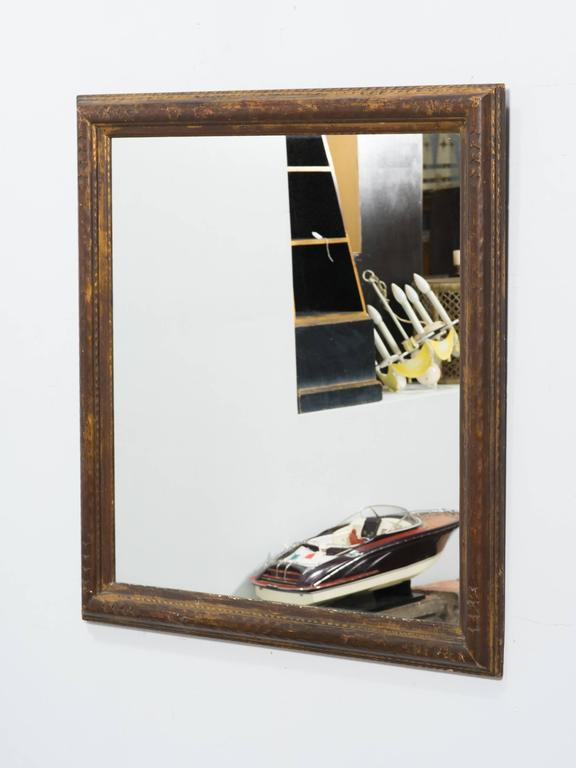 Chunky framed mirrors