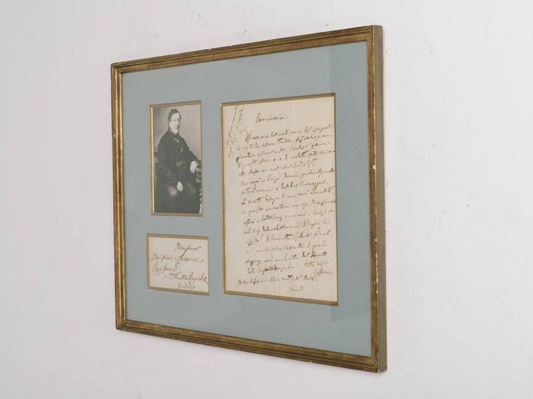 Rossini Signed Letter For Sale 2