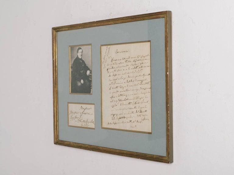Rossini Signed Letter For Sale 3