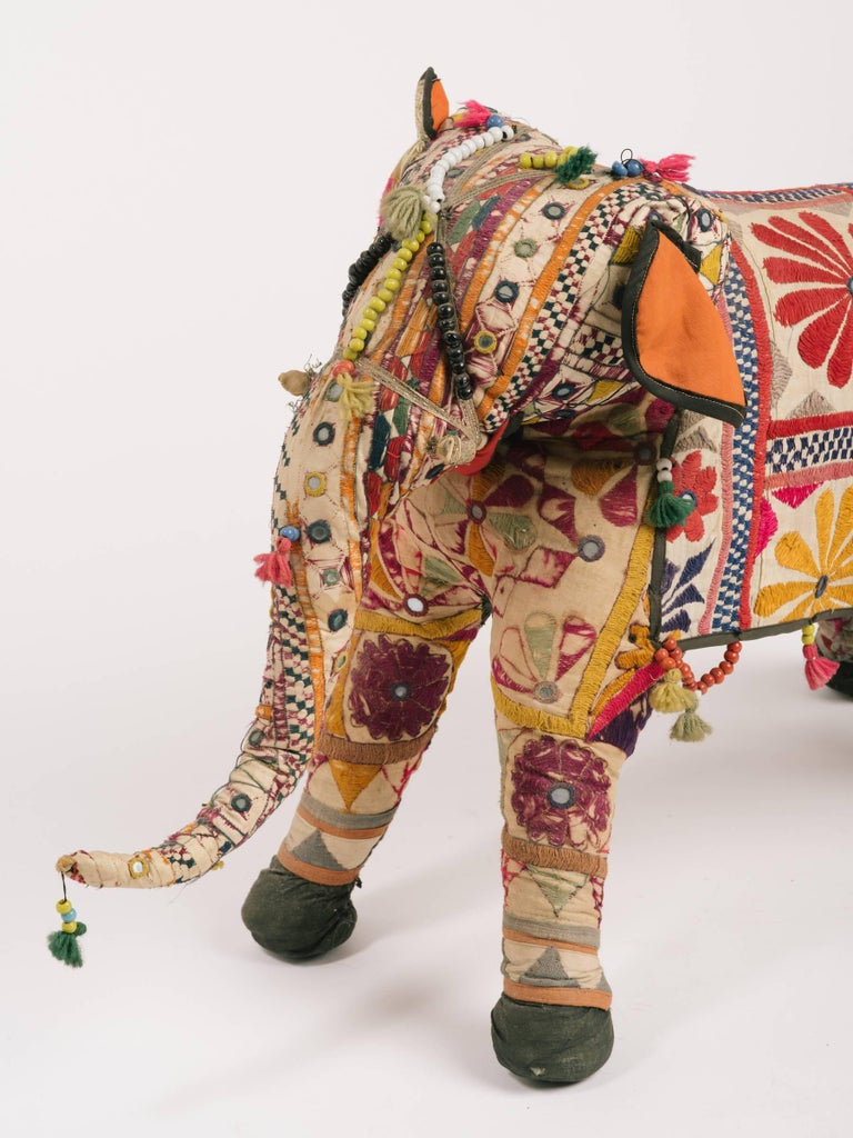 1970s Indian Elephant In Fair Condition For Sale In Tarrytown, NY