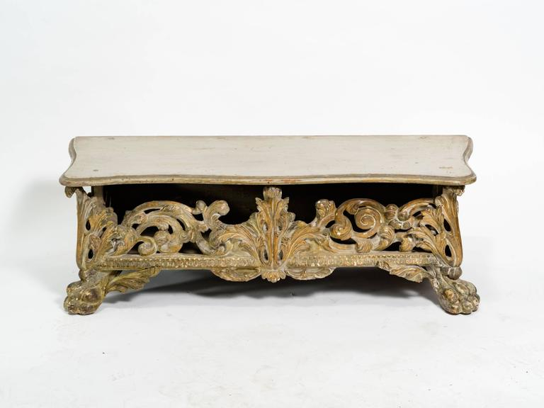 Italian Baroque Bench For Sale 4