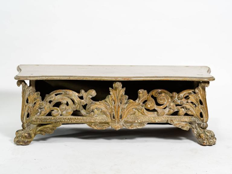 Early 19th Century Italian Baroque Bench For Sale