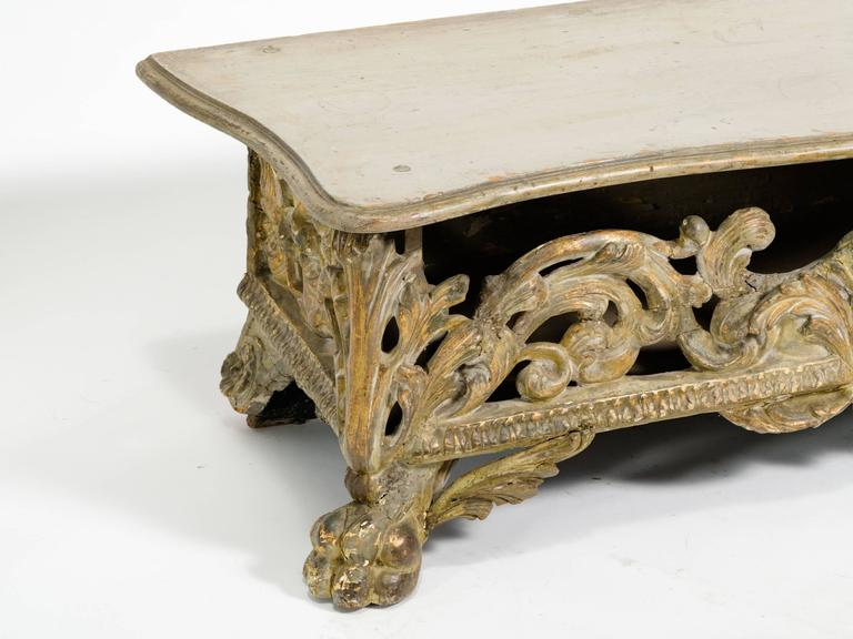 Italian Baroque Bench For Sale 1
